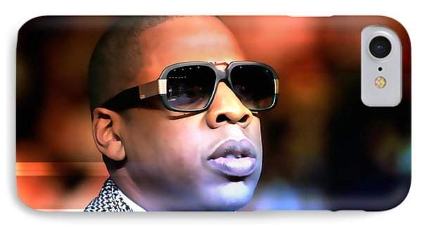 Jay Z IPhone Case by Marvin Blaine