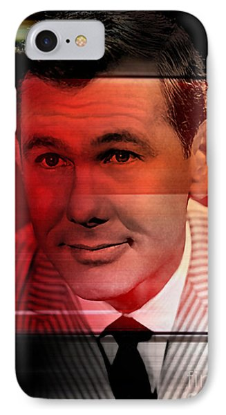 Johnny Carson IPhone Case by Marvin Blaine