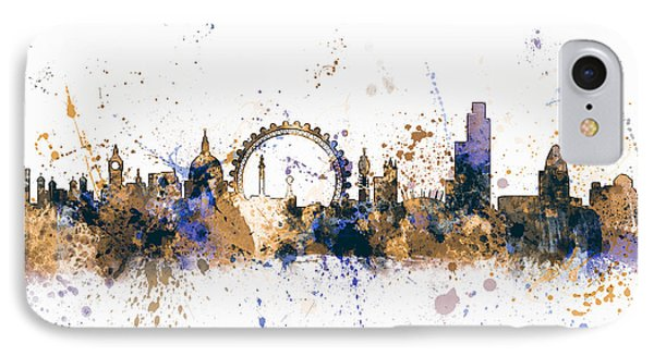 London England Skyline IPhone Case by Michael Tompsett