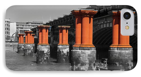 London Thames Bridges Phone Case by David French