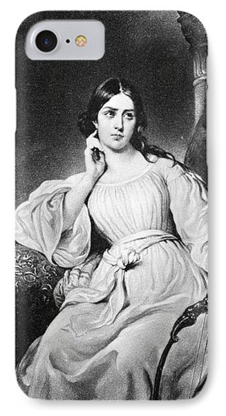Maria Malibran (1808-1836) IPhone Case by Granger