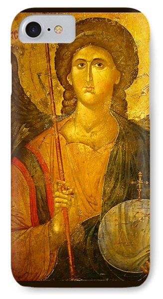 Michael The Archangel IPhone Case by Ellen Henneke