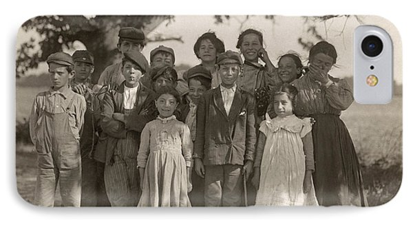 Migrant Workers, 1910 IPhone Case by Granger