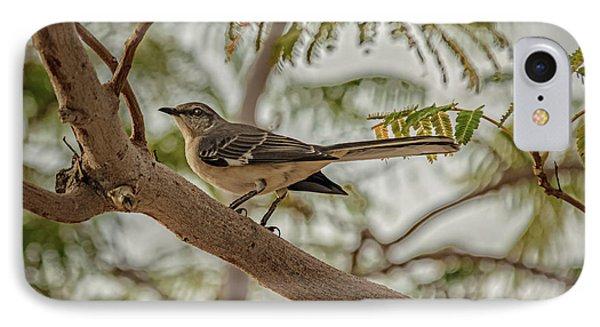 Mockingbird Phone Case by Robert Bales