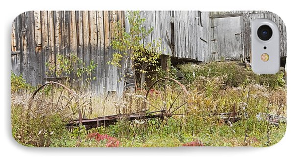 Old Barn In Fall Maine IPhone Case by Keith Webber Jr