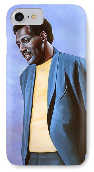 Otis Redding Painting IPhone Case by Paul Meijering
