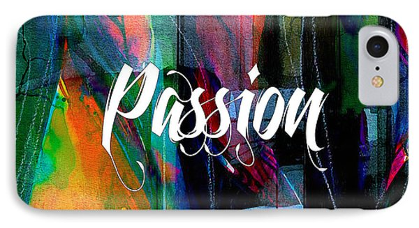 Passion Wall Art IPhone Case by Marvin Blaine
