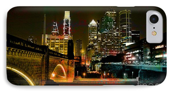 Philadelphia Skyline IPhone Case by Marvin Blaine