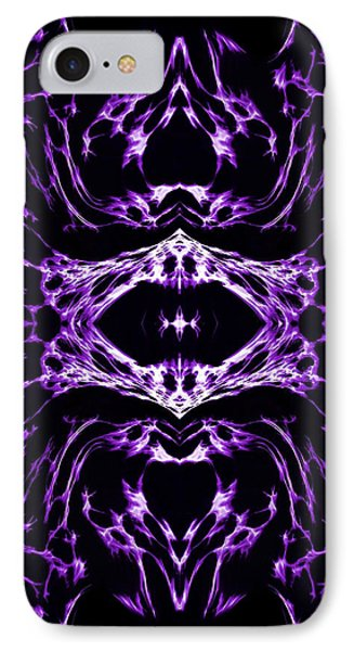 Purple Series 3 Phone Case by J D Owen
