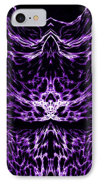 Purple Series 6 Phone Case by J D Owen
