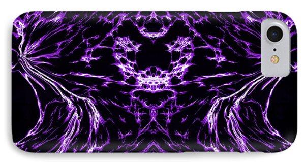 Purple Series 8 Phone Case by J D Owen