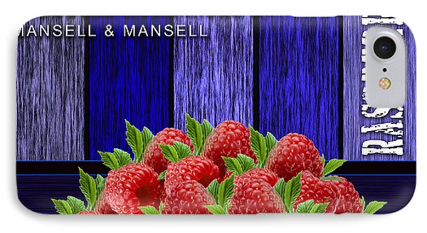 Raspberry Fields IPhone Case by Marvin Blaine
