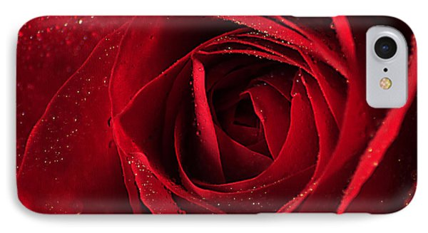 Red Rose Phone Case by Darren Fisher