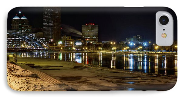 Rochester At Night Phone Case by Tim Buisman