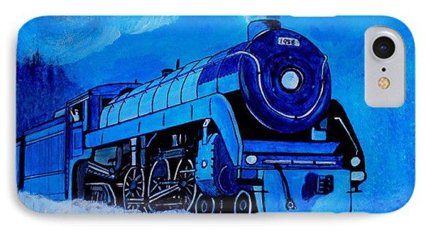Royal Blue Express IPhone Case by Pjohn Artman