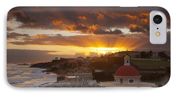San Juan Sunrise Phone Case by Brian Jannsen