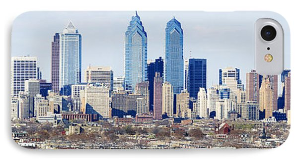 Skyscrapers In A City, Philadelphia IPhone Case by Panoramic Images