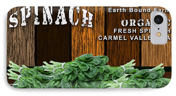 Spinach Patch IPhone Case by Marvin Blaine