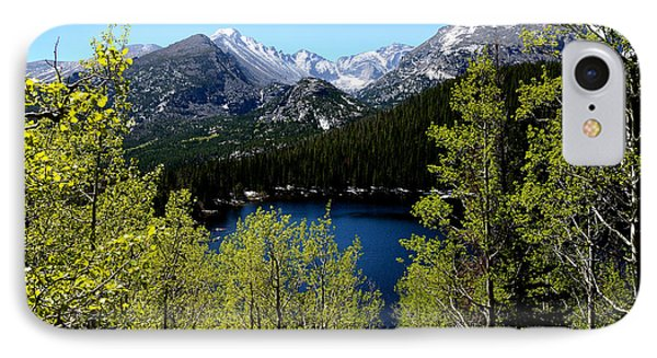 Spring At Bear Lake Phone Case by Tranquil Light  Photography