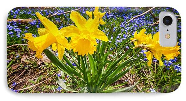 Spring Wildflowers Phone Case by Elena Elisseeva