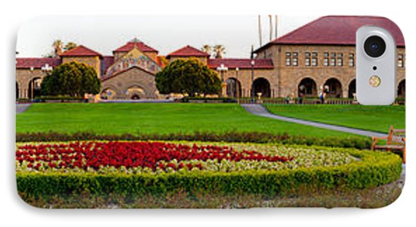 Stanford University Campus, Palo Alto IPhone 7 Case by Panoramic Images