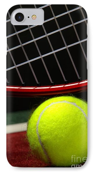 Tennis Ball IPhone Case by Olivier Le Queinec