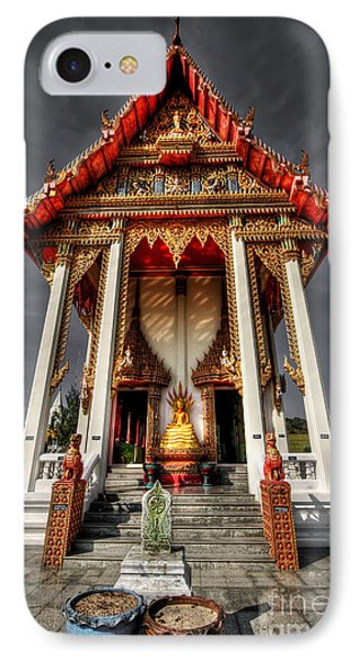 Thai Temple Phone Case by Adrian Evans