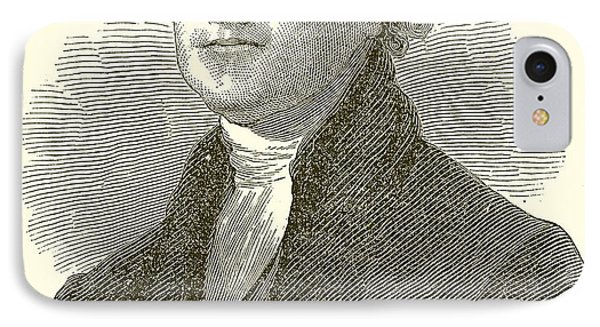 Thomas Jefferson Phone Case by English School