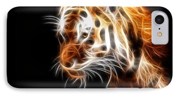 Tiger  IPhone Case by Mark Ashkenazi