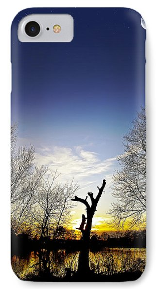 Tree Silhouette IPhone Case by Brian Wallace
