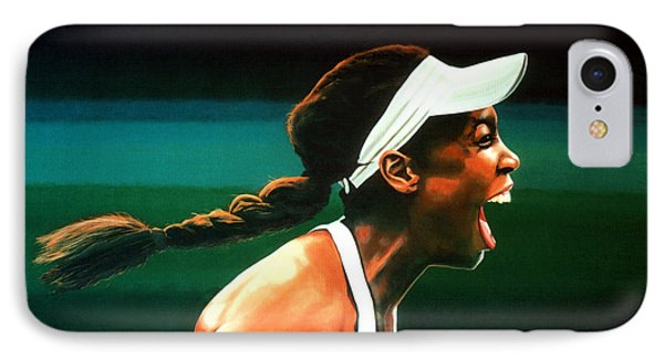 Venus Williams IPhone 7 Case by Paul Meijering