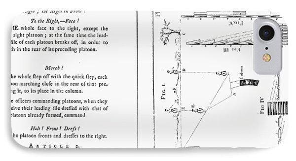 Von Steuben Drill Manual IPhone Case by Granger