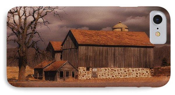Wisconsin Barn IPhone Case by Jack Zulli