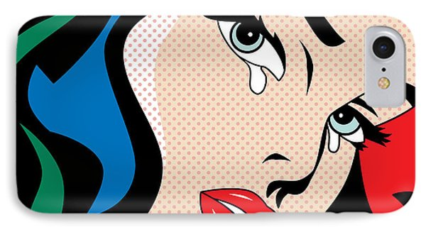 Wonder Woman IPhone Case by Mark Ashkenazi