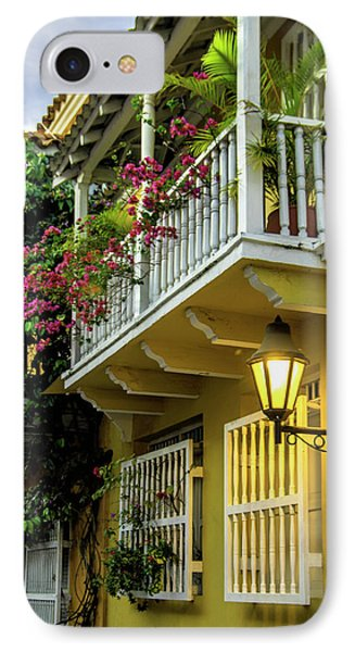 Wonderful Spanish Colonial Architecture IPhone Case by Jerry Ginsberg