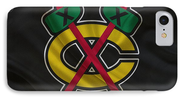 Chicago Blackhawks IPhone Case by Joe Hamilton