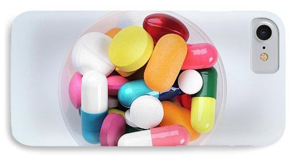 Pills IPhone Case by Tek Image