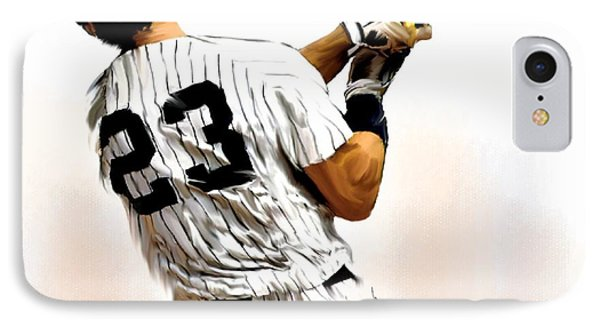 23   Don Mattingly  Phone Case by Iconic Images Art Gallery David Pucciarelli