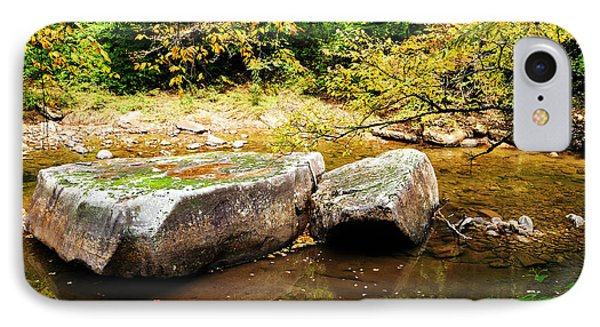 Fall Along Williams River Phone Case by Thomas R Fletcher