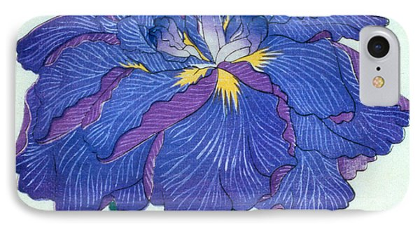 Japanese Flower  IPhone Case by Japanese School