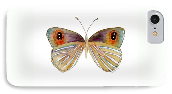 24 Argyrophenga Butterfly Phone Case by Amy Kirkpatrick