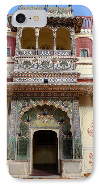 Jaipur, Rajasthan, India IPhone Case by Charles O. Cecil