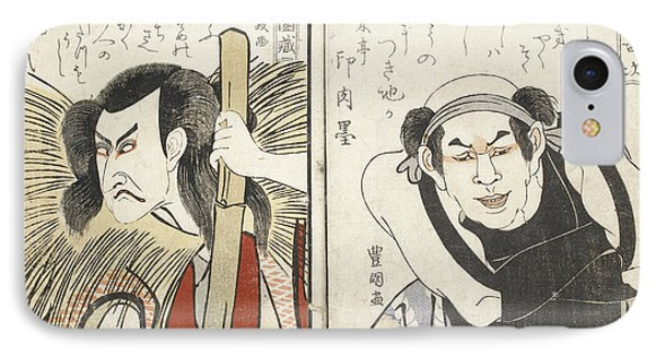 Kabuki Actor IPhone Case by British Library