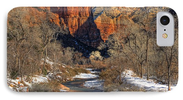 Zion National Park Utah IPhone Case by Utah Images