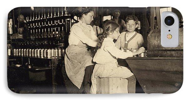 Hine Child Labor, 1910 IPhone Case by Granger