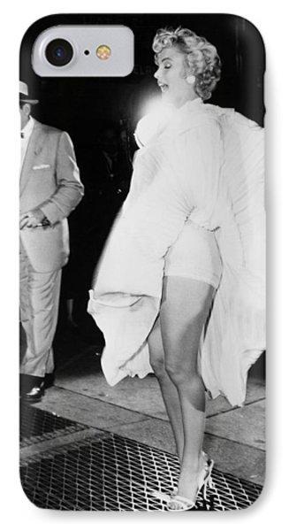 Marilyn Monroe (1926-1962) IPhone Case by Granger