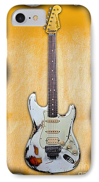 Fender Stratocaster Collection IPhone Case by Marvin Blaine