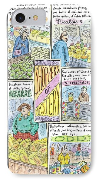 Untitled IPhone Case by Roz Chast