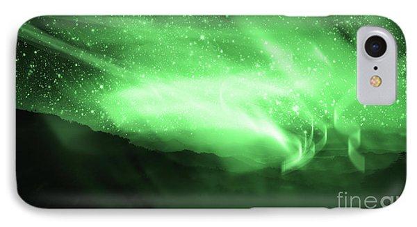 Aurora Borealis IPhone Case by Setsiri Silapasuwanchai