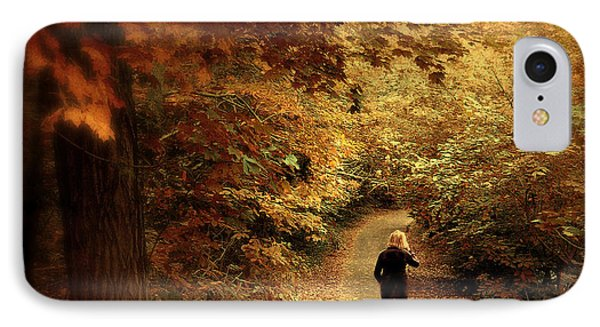 Autumn Stroll IPhone Case by Jessica Jenney